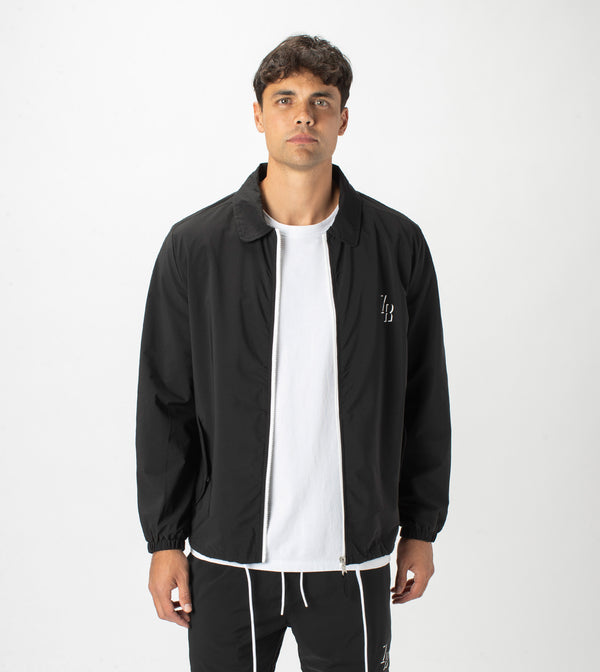 Avalon Coach Jacket Black