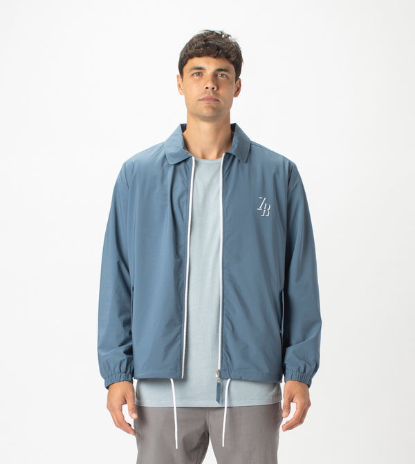 Avalon Coach Jacket Dull Blue