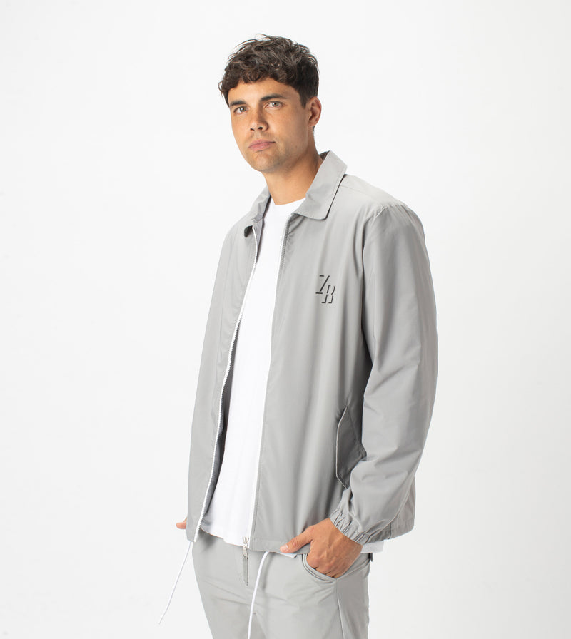 Avalon Coach Jacket Ice Grey