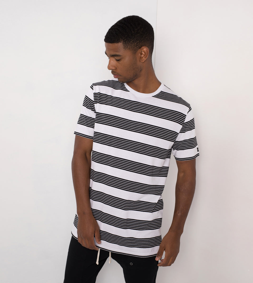 Band Flintlock Tee White/Black - Sale