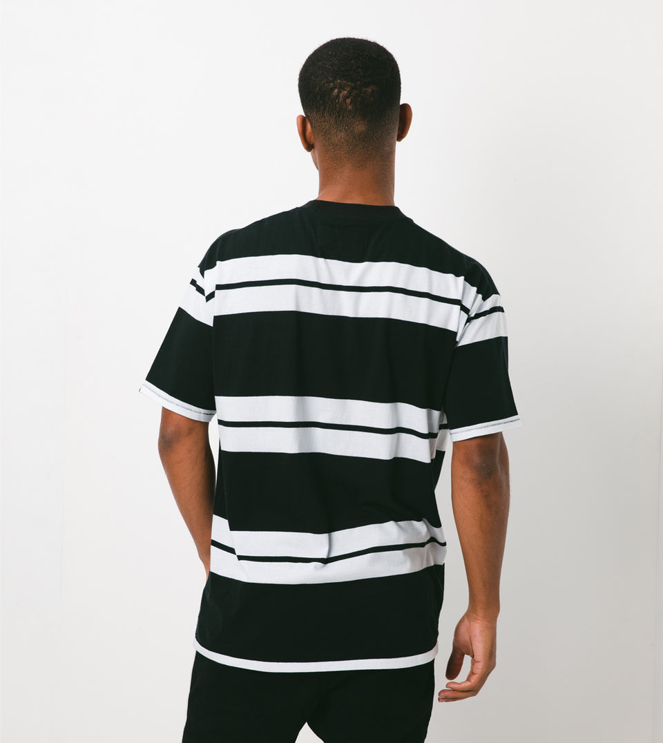 Bands Box Tee Black/White - Sale