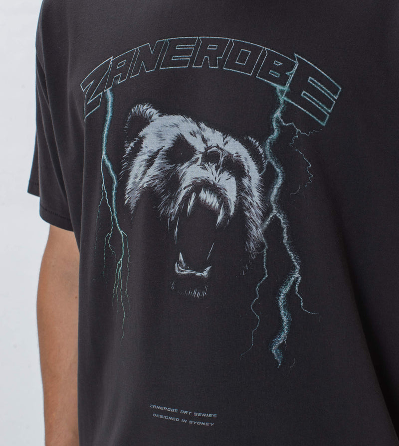 Bear Box Tee GD Black