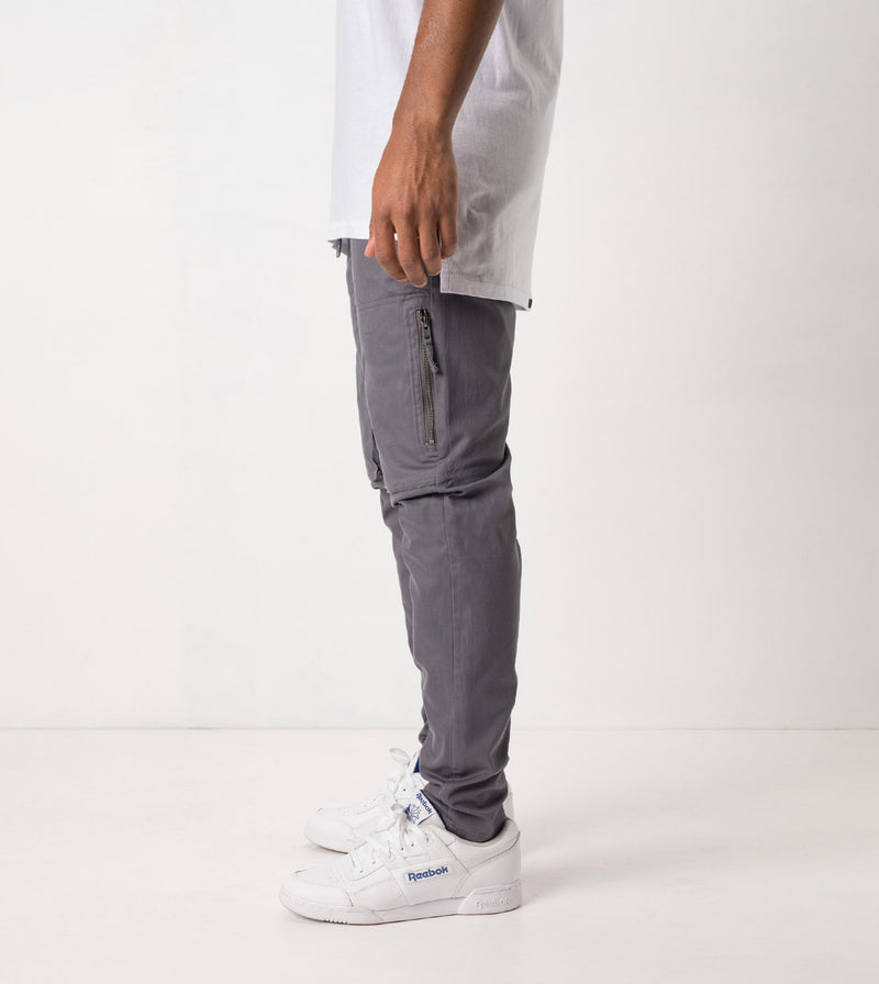 Blockshot Chino Grey