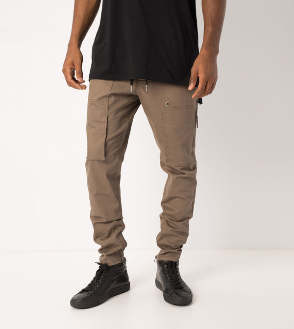 Blockshot Chino Timber