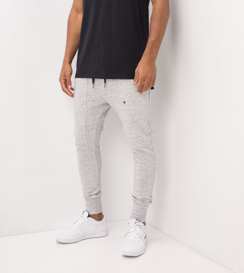 Blockshot Fleece Jogger Storm Marle