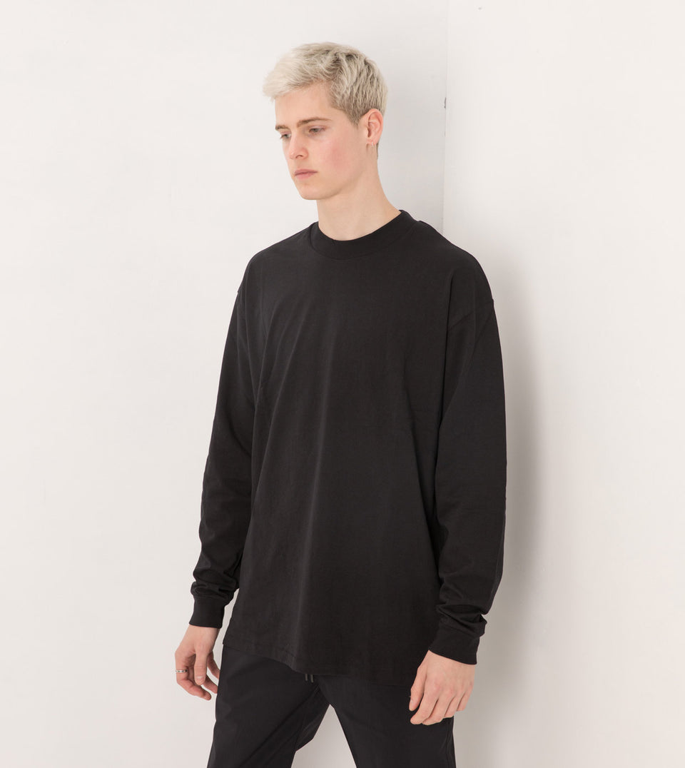 Box LS Tee Black