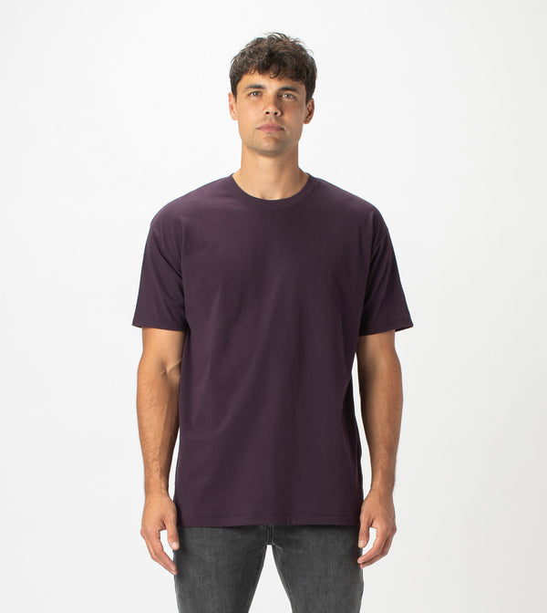 Box Tee Dk Grape