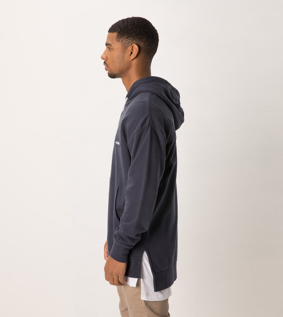 Brand Rugger Hood Sweat Duke Blue
