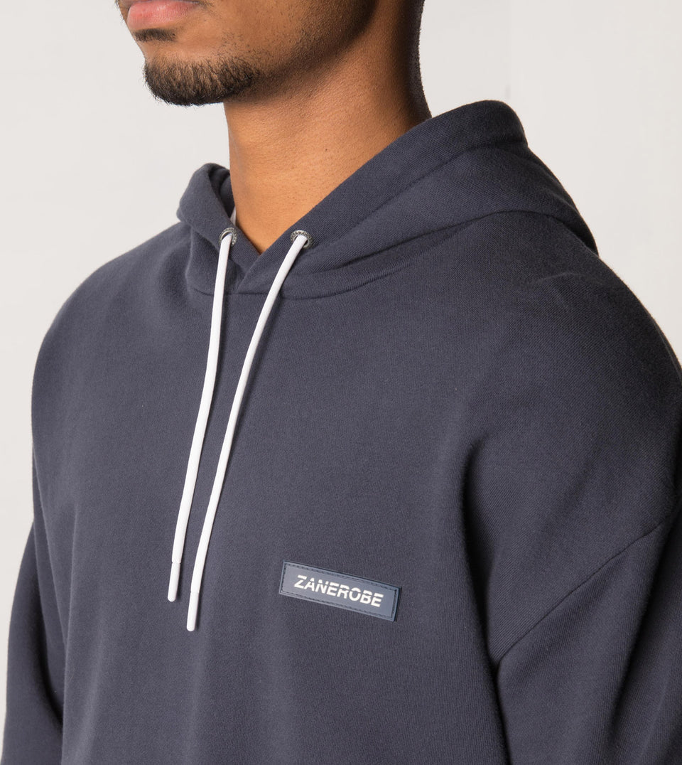 Brand Rugger Hood Sweat Duke Blue - Sale
