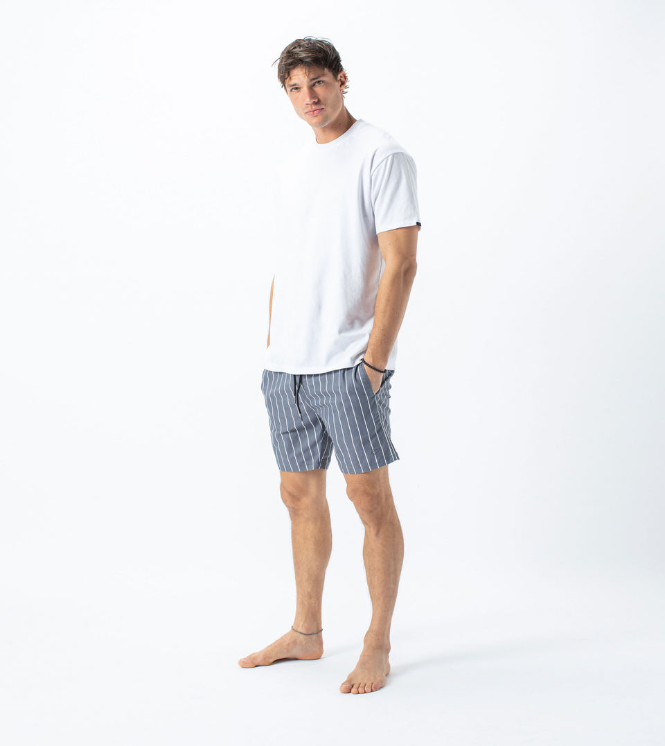 Chambray Laguna Short Ink/Milk