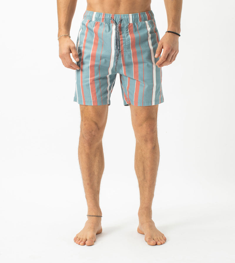Chambray Laguna Short Ocean/Clay