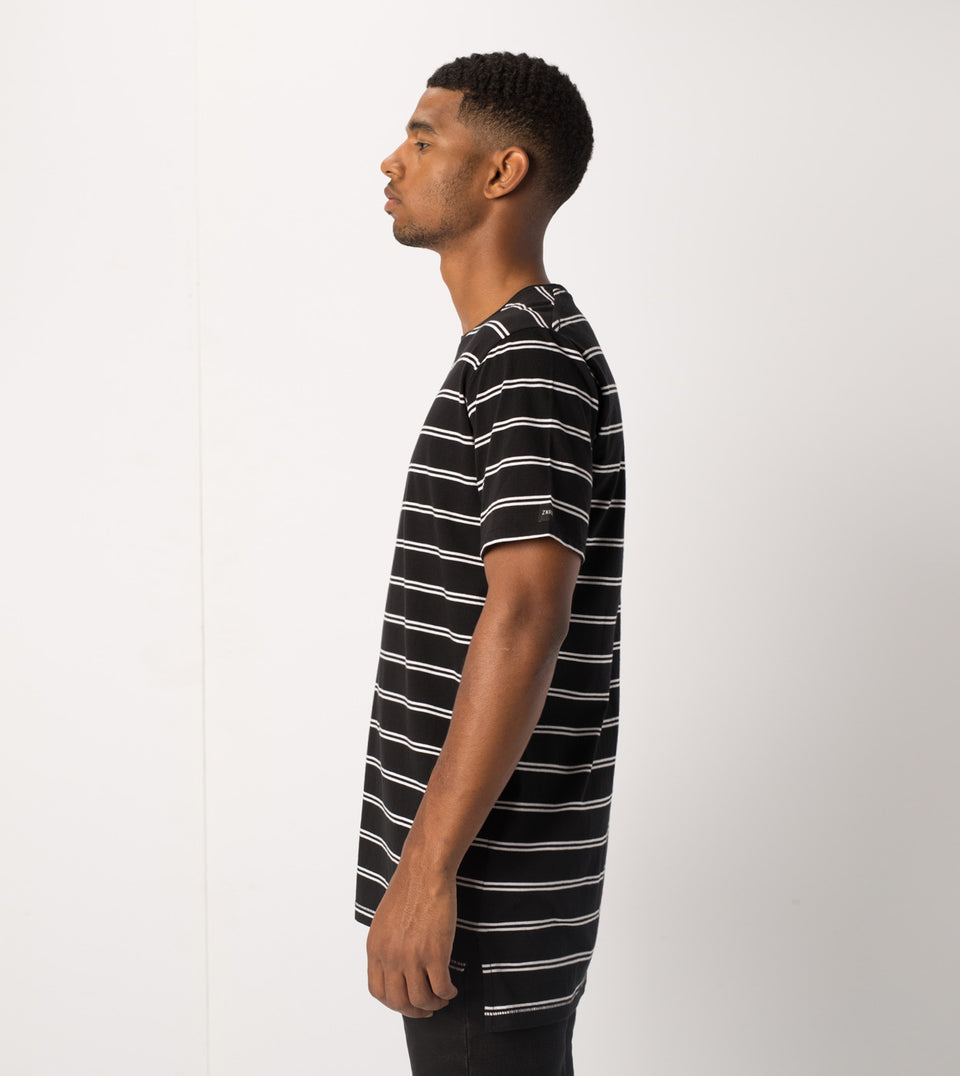 Channel Flintlock Tee Black/White - Sale