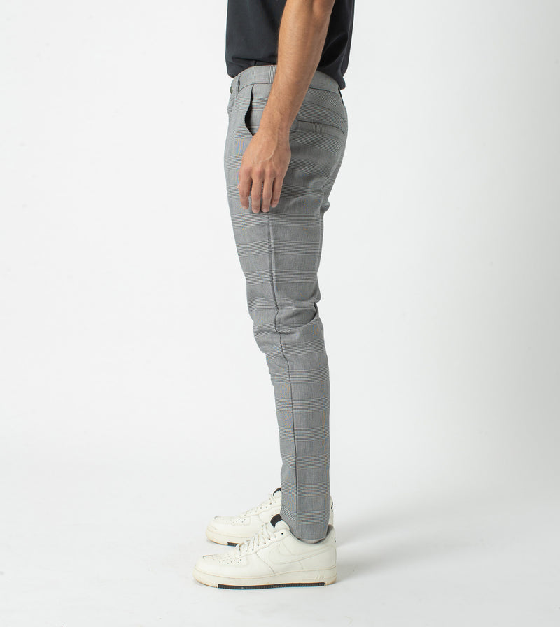 Check Snapshot Chino Grey
