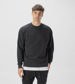 Lowgo Crew Sweat Black