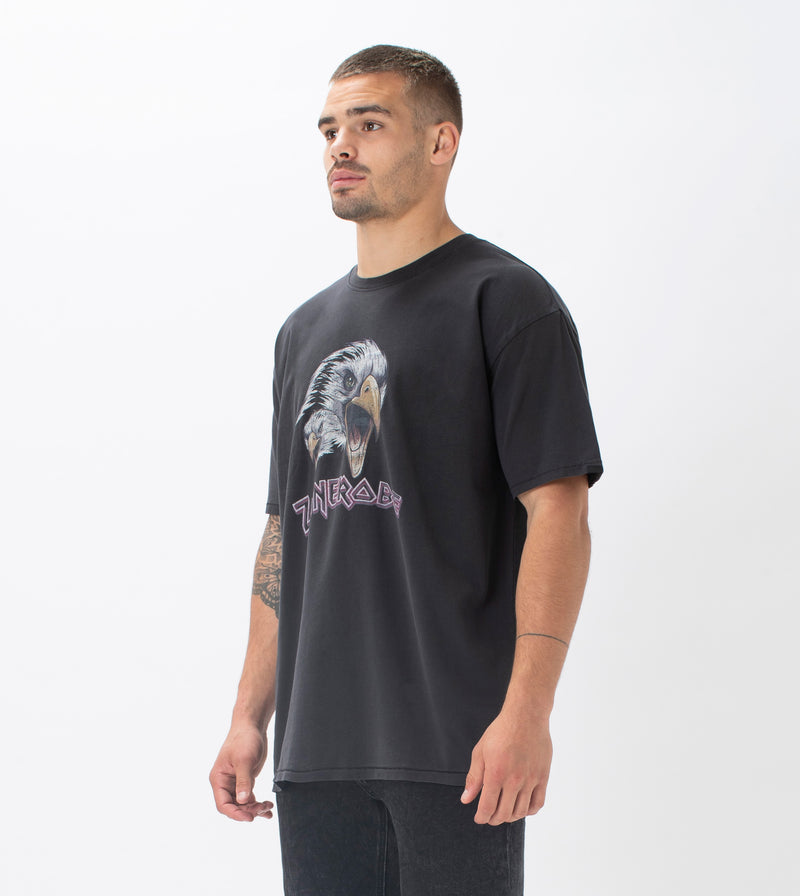 Eaglehawk Box Tee GD Black