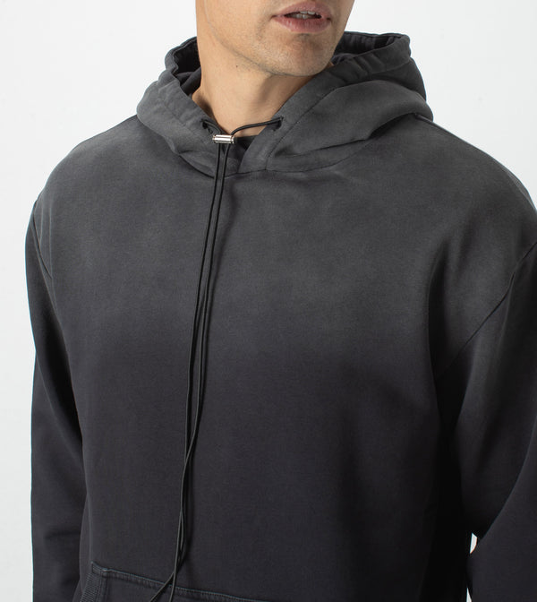Field Hood Sweat GD Black
