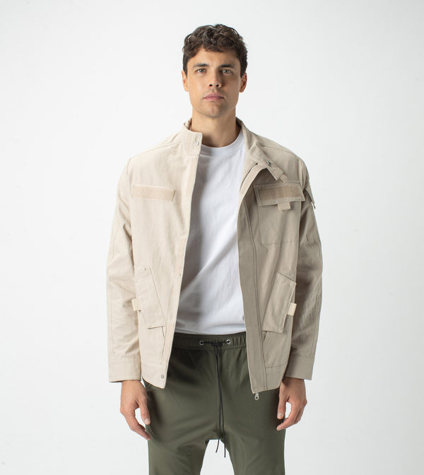 Field Jacket Oat - Sale