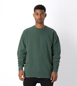 Flintlock Crew Sweat Forest - Sale