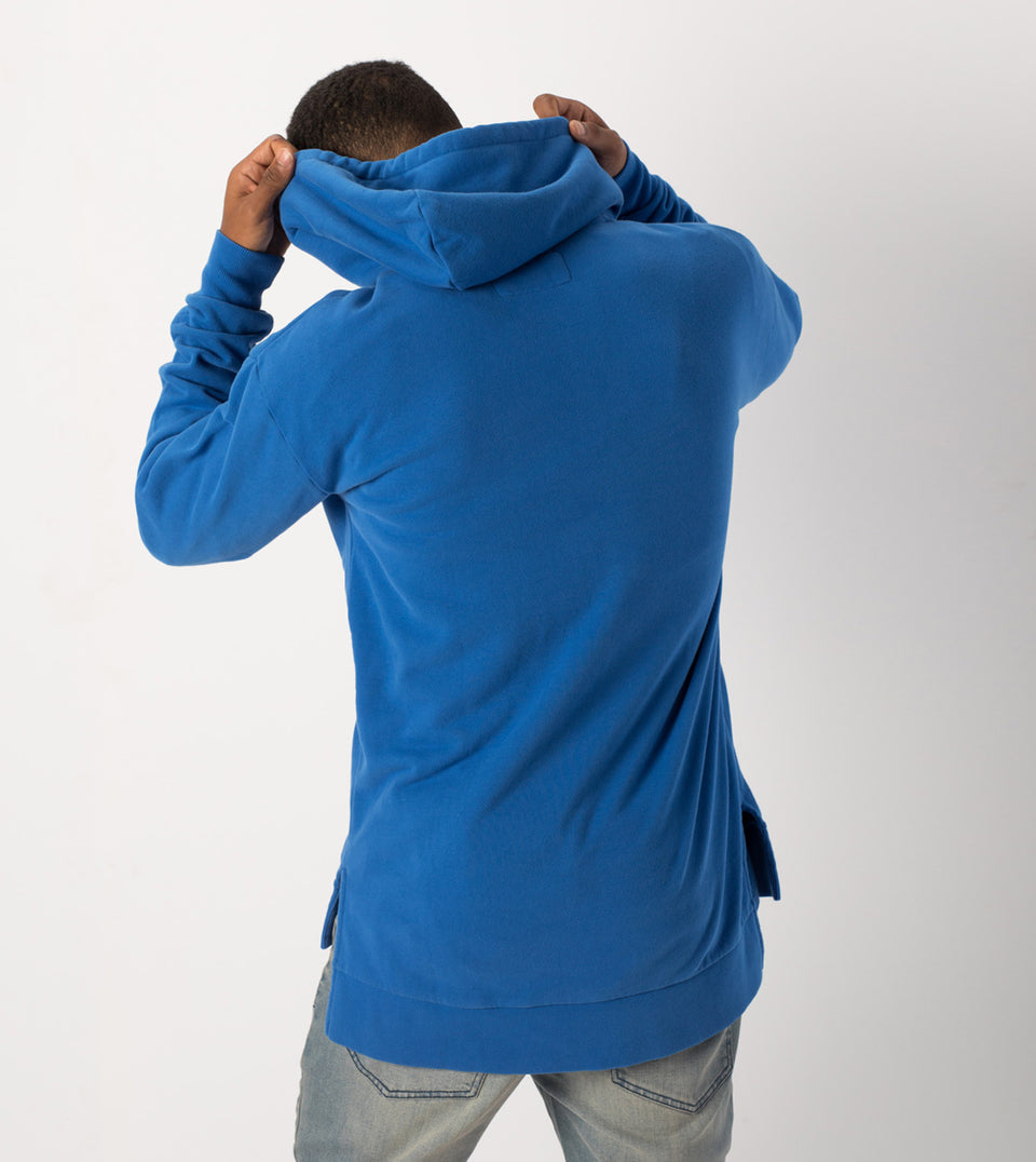 Flintlock Hood Sweat Cobalt