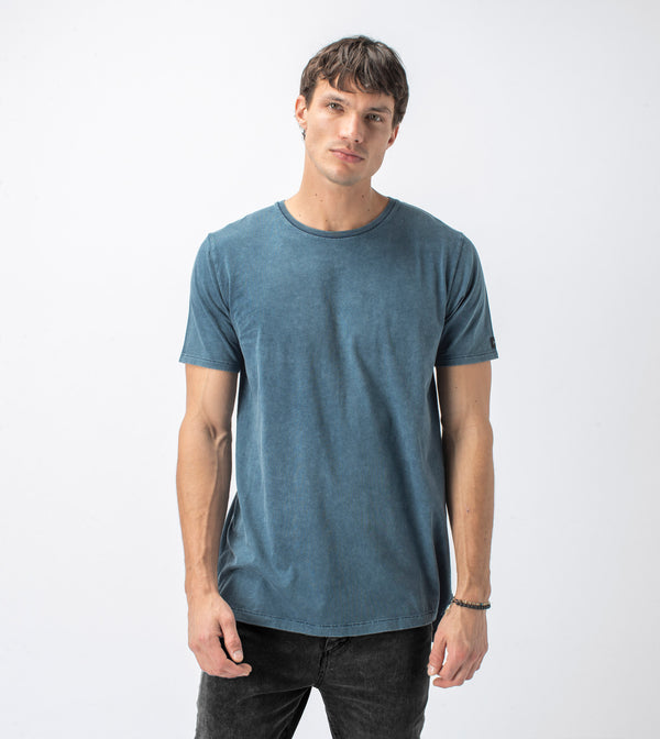 Flintlock Tee Blue Acid