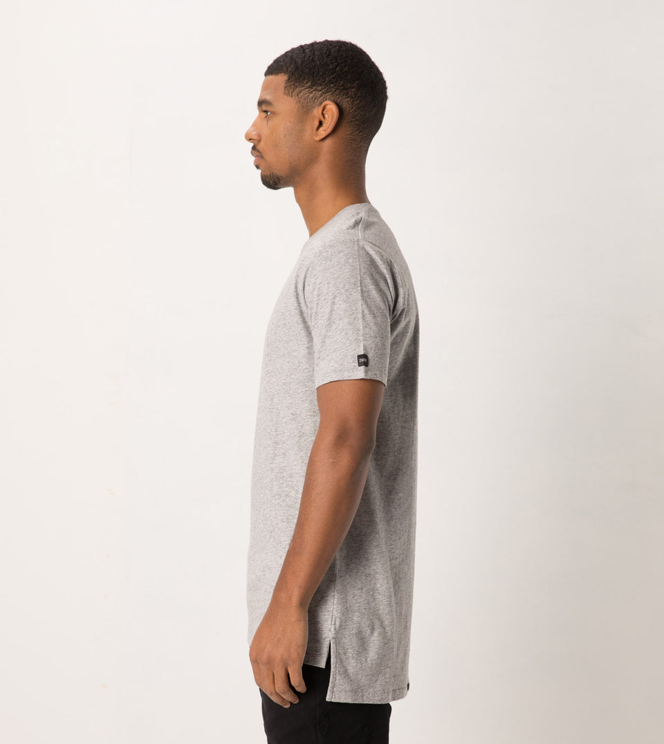 Flintlock Tee Grey Marle
