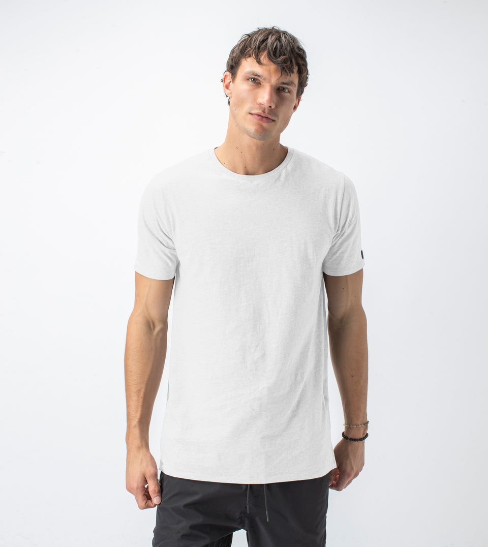 Flintlock Tee White Marle