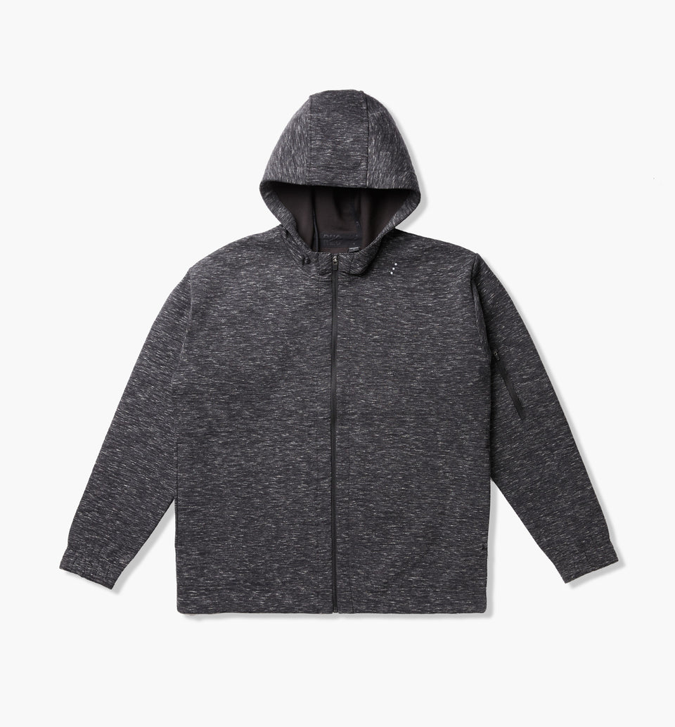 Foam Hood Sweat Space Black