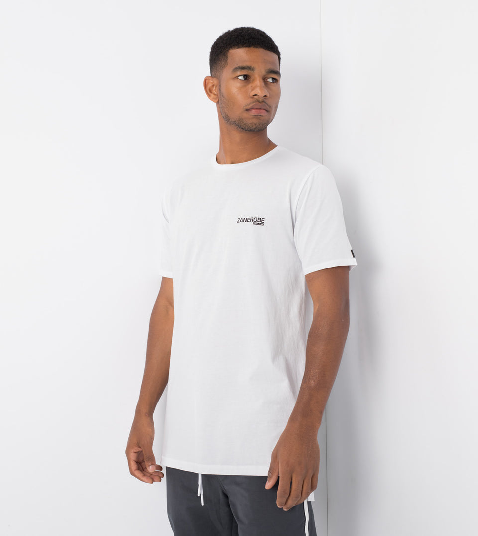 Geo Flintlock Tee White