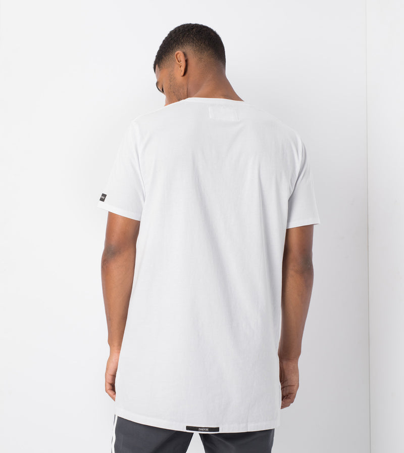 Geo Flintlock Tee White - Sale