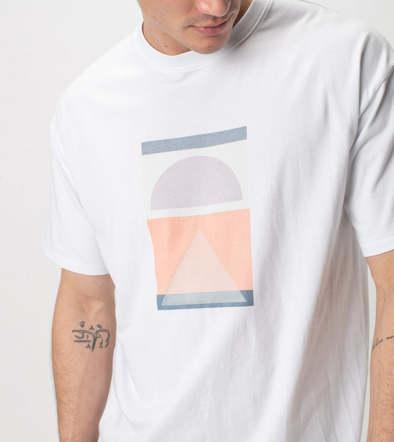 Harvest Box Tee White