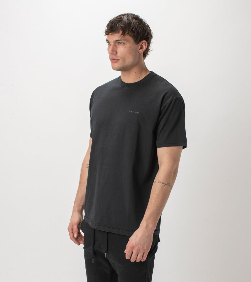 Holdings Box Tee GD Black