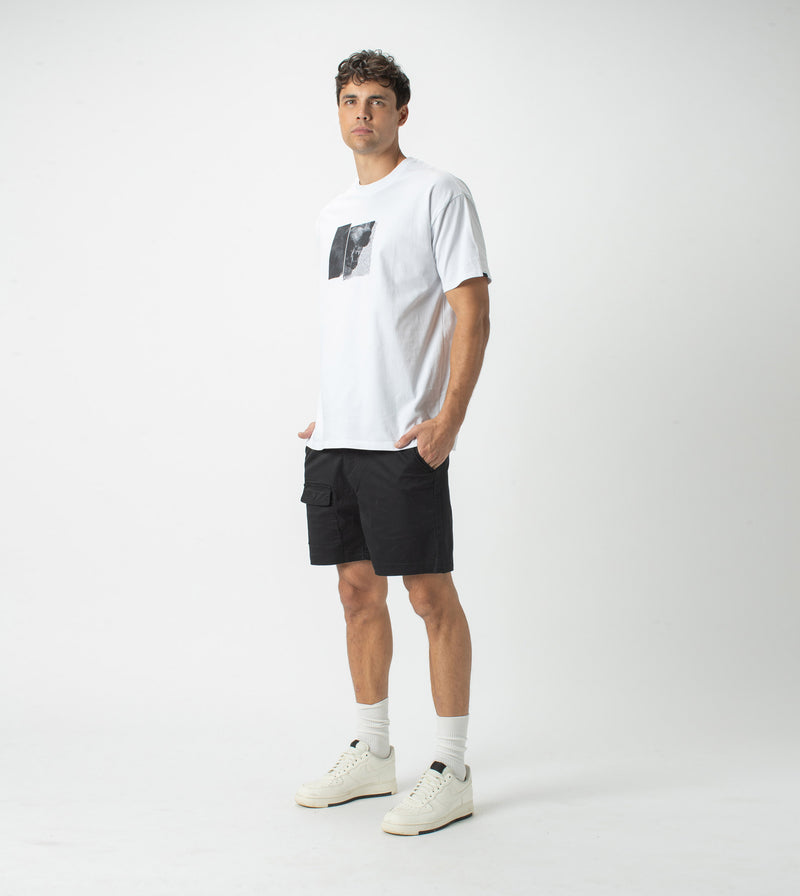 Hunt Box Tee White