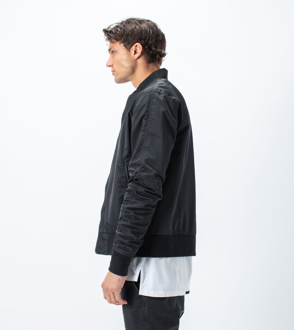 J9 Reversible Bomber Black
