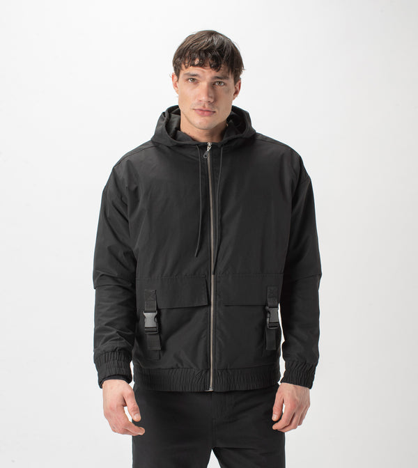Jumpa Utility Jacket Black