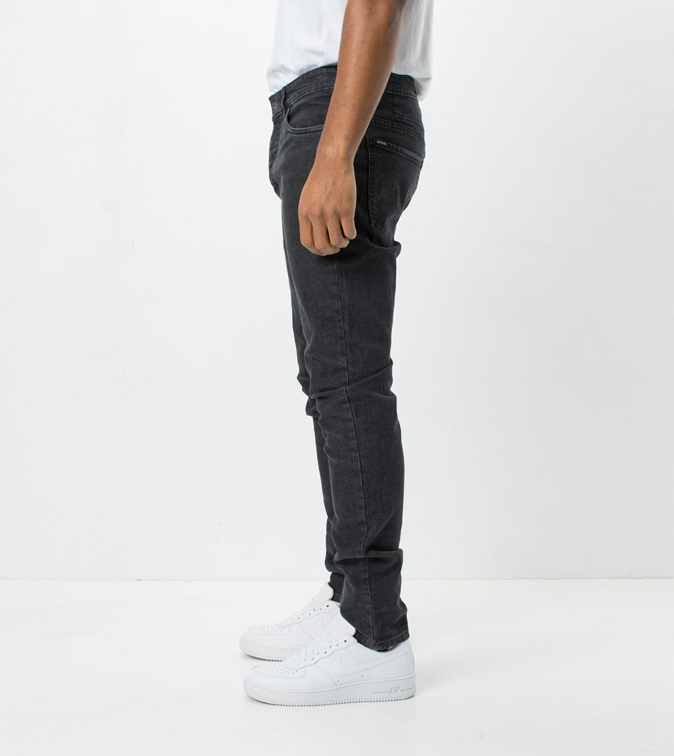 Joe Blow Denim Banged Up Black