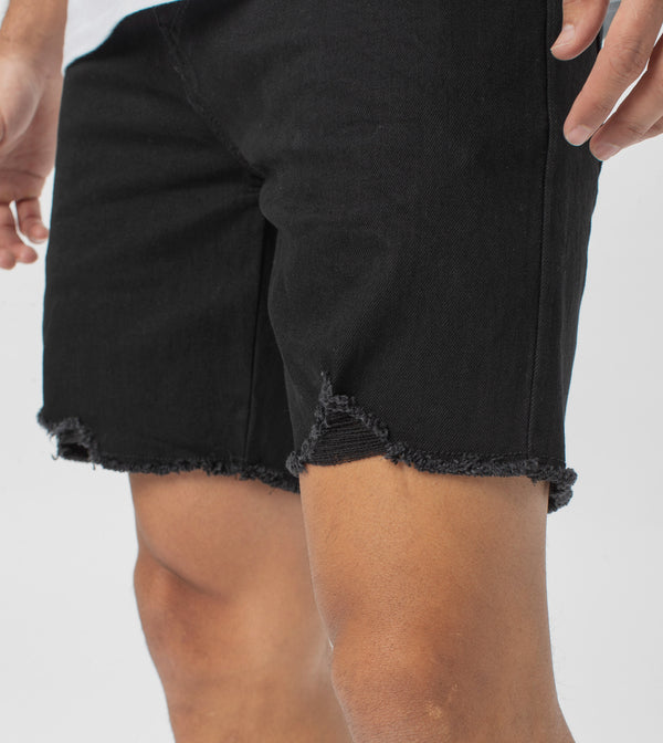 Joe Blow Denim Short Double Black - Sale