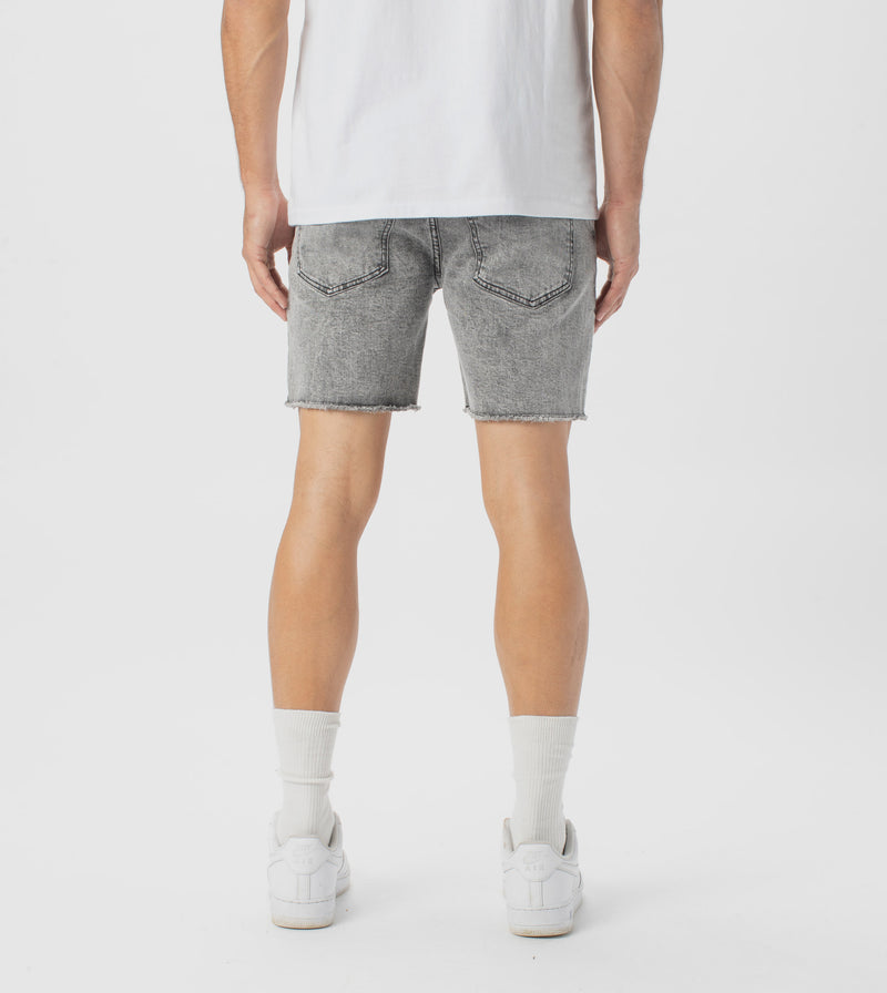 Joe Blow Denim Short Grey - Sale