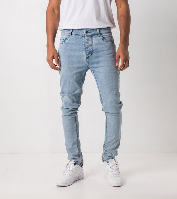 Joe Blow Zip Denim Arctic Wash - Sale