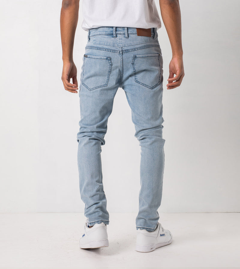 Joe Blow Zip Denim Arctic Wash