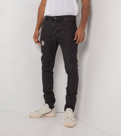 Joe Blow Zip Denim Milled Black - Sale