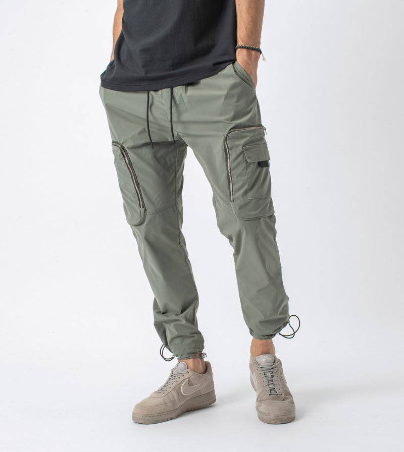Jumpa+ Tech Pant Dark Moss