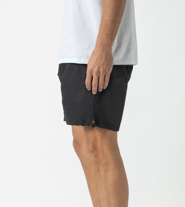 Jumpa Lite Short Washed Black