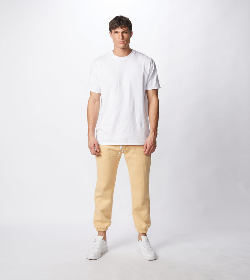 Jumpa Sweat Fleece Jogger Mango - Sale