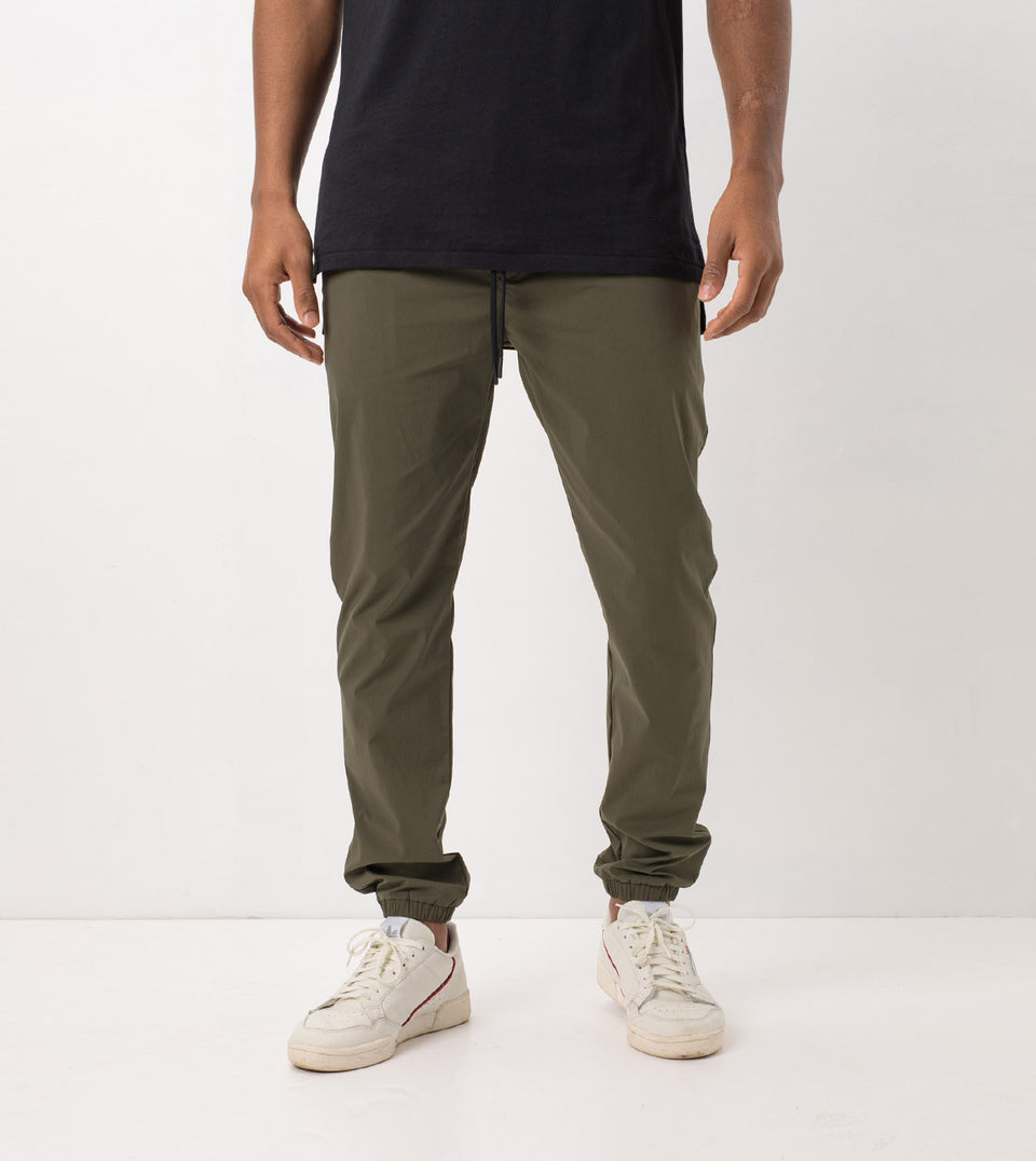 Jumpshot Jogger Military - Sale