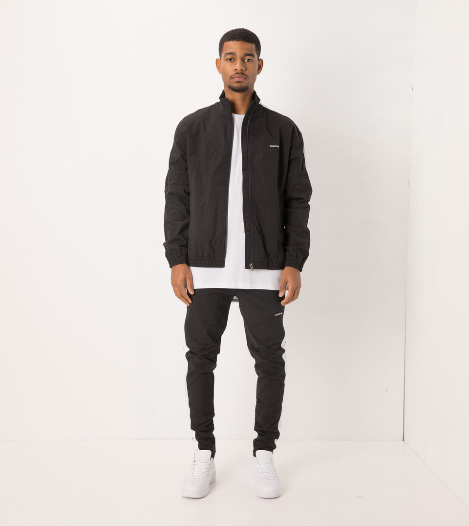 Jumpshot Track Jacket Black/White