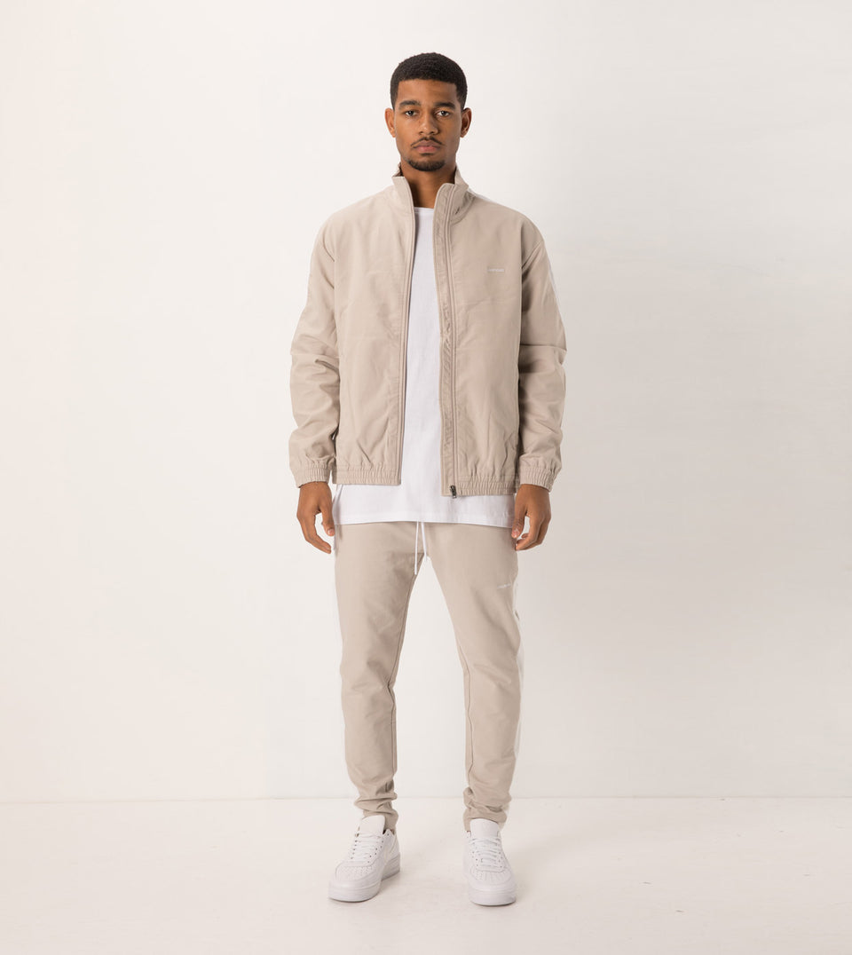 Jumpshot Track Pant Putty/White - Sale