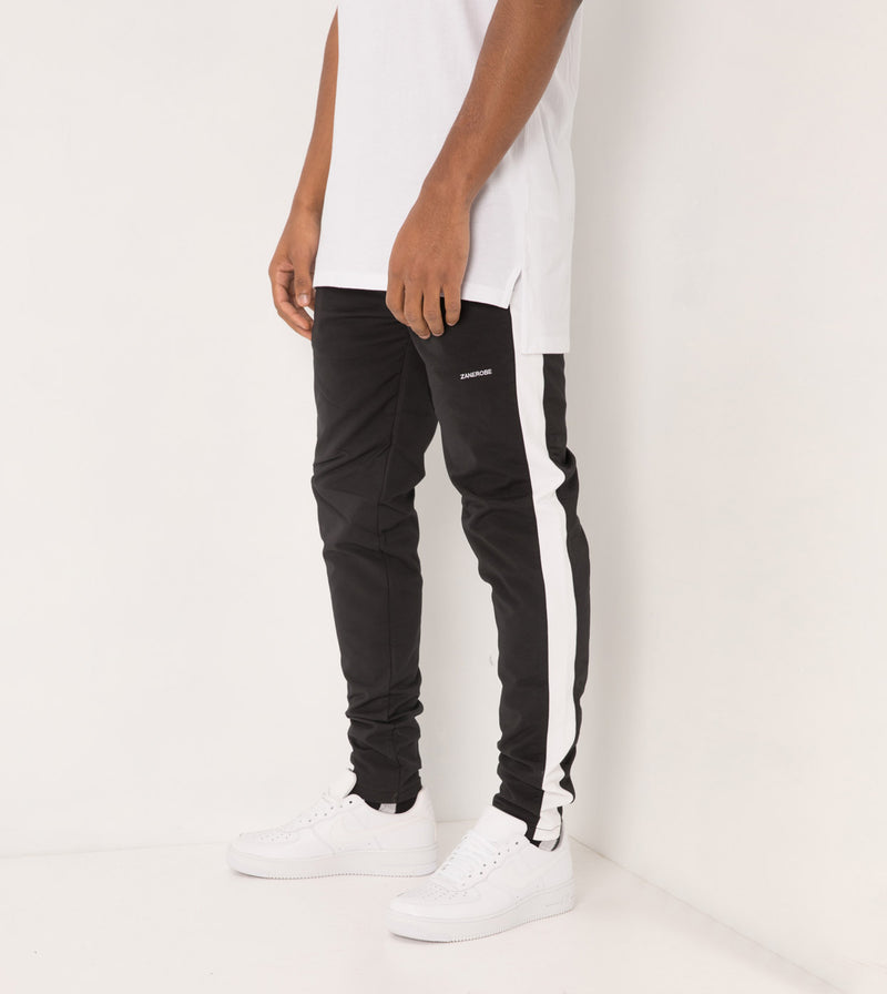 Jumpshot Track Pant Black/White