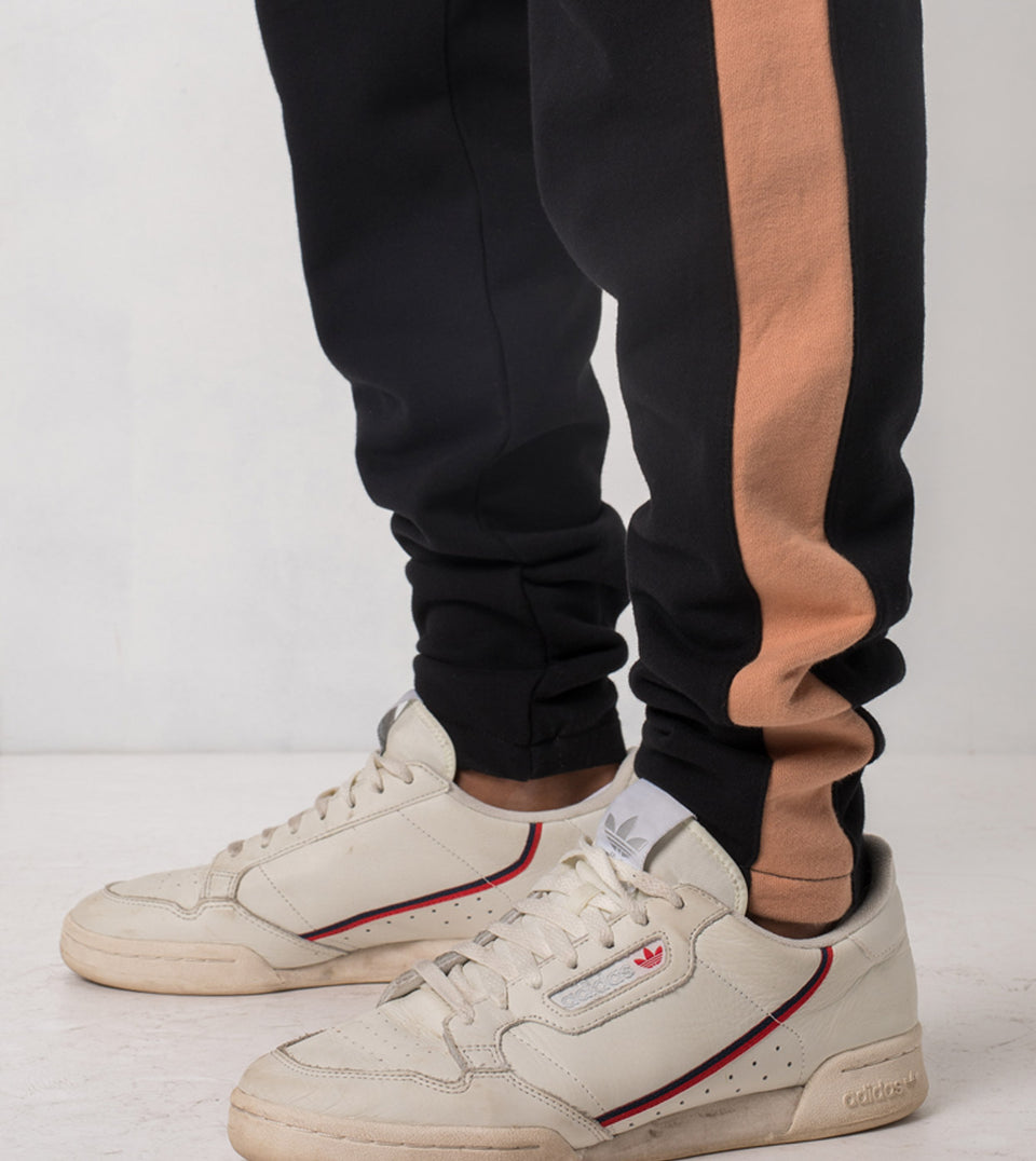 Jumpshot Trackpant Black/Biscuit - Sale