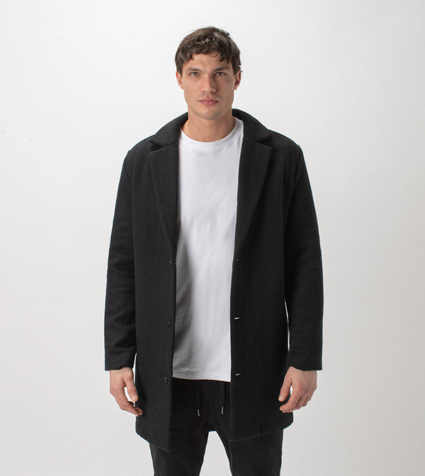 Kyoto Melton Jacket Black - Sale