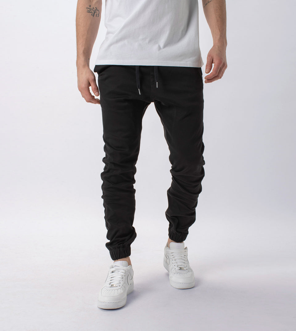 Knitted Sureshot Jogger Black